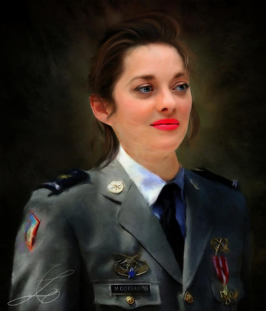 Marion Cotillard by z6ig